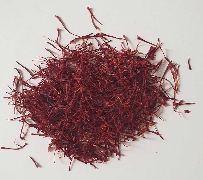 Saffron has an extremely subtle and fragrant slightly sweet, luxurious taste
